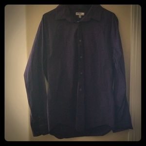 Express Fitted DRESS shirt
